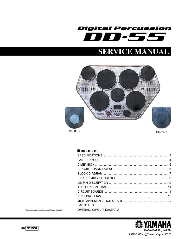 yamaha dd 55 digital percussion service manual download schematics rh elektrotanya com