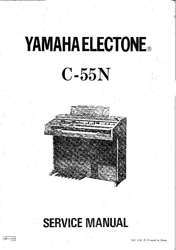 yamaha electone c