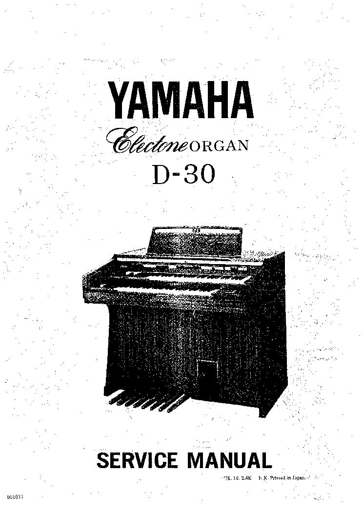 Yamaha Electone D