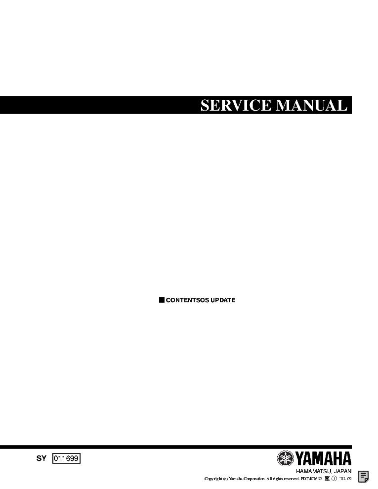 Yamaha motif es 6 7 8 owner's manual user guide es7 es8 | #110811655.