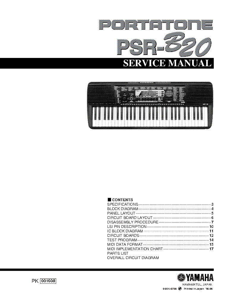 yamaha p 80 sm service manual download schematics eeprom repair rh elektrotanya com  yamaha p80 owner's manual