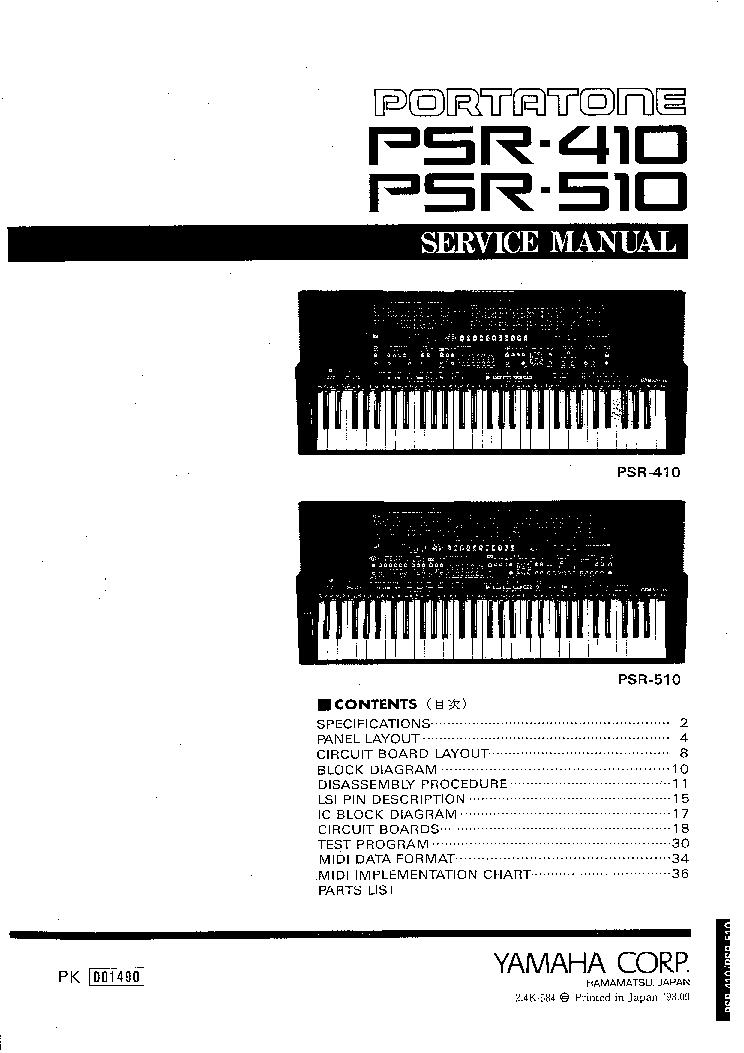 Инструкция psr 510