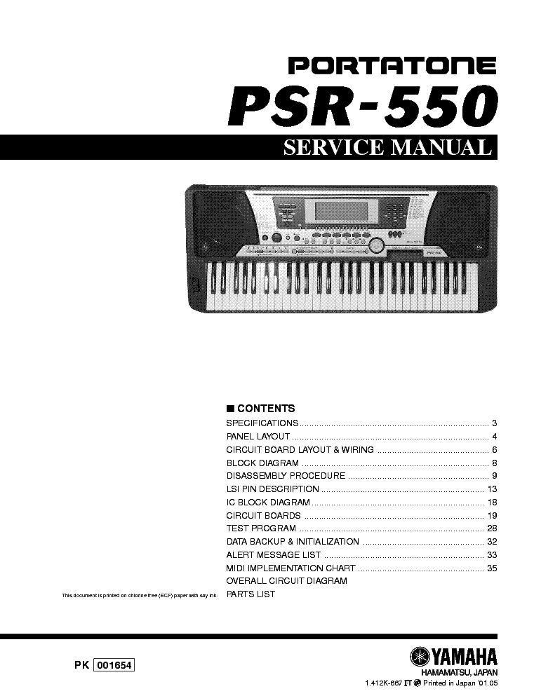 Fine Yamaha Psr 550 Sm 2 Service Manual Download Schematics Eeprom Wiring Digital Resources Jebrpcompassionincorg