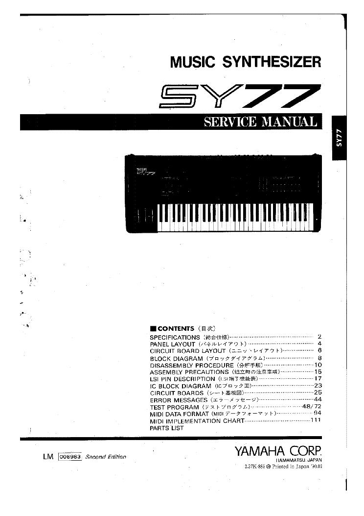 yamaha psr 8000 sm service manual download schematics eeprom rh elektrotanya com Yamaha PSR 8000 Keyboard Yamaha PSR Keyboard 4000