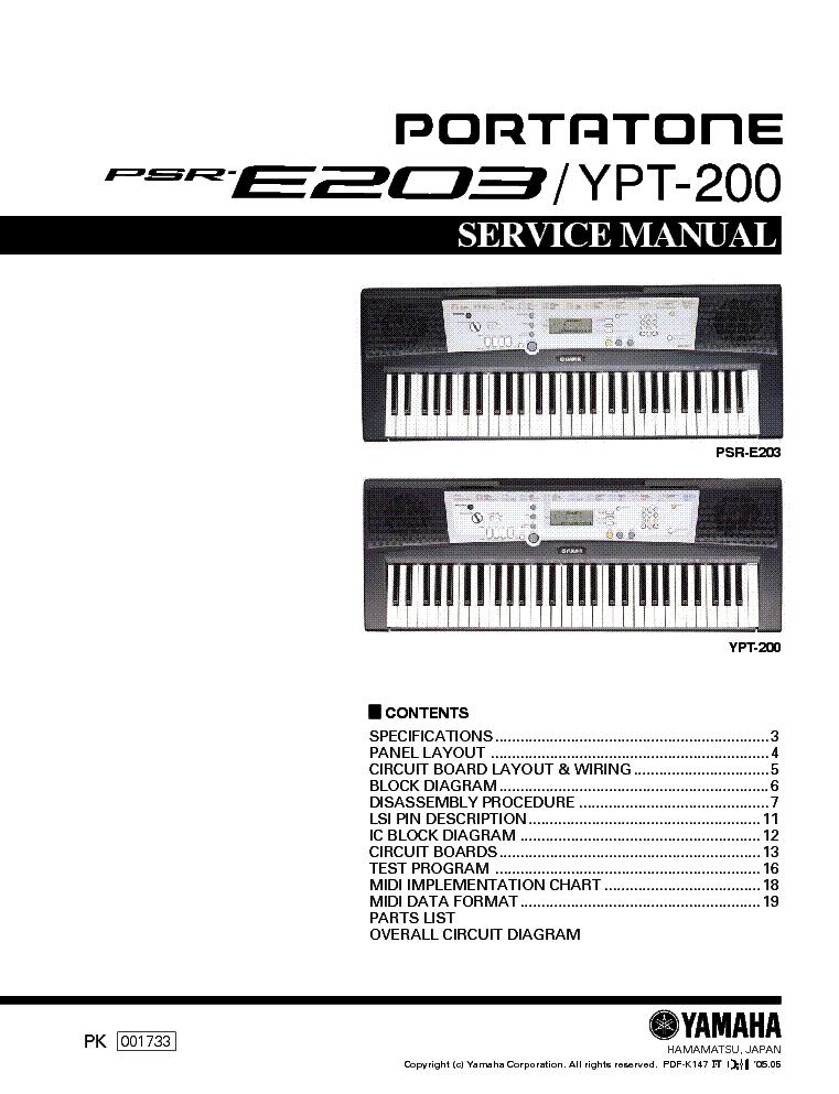 Yamaha Ypt