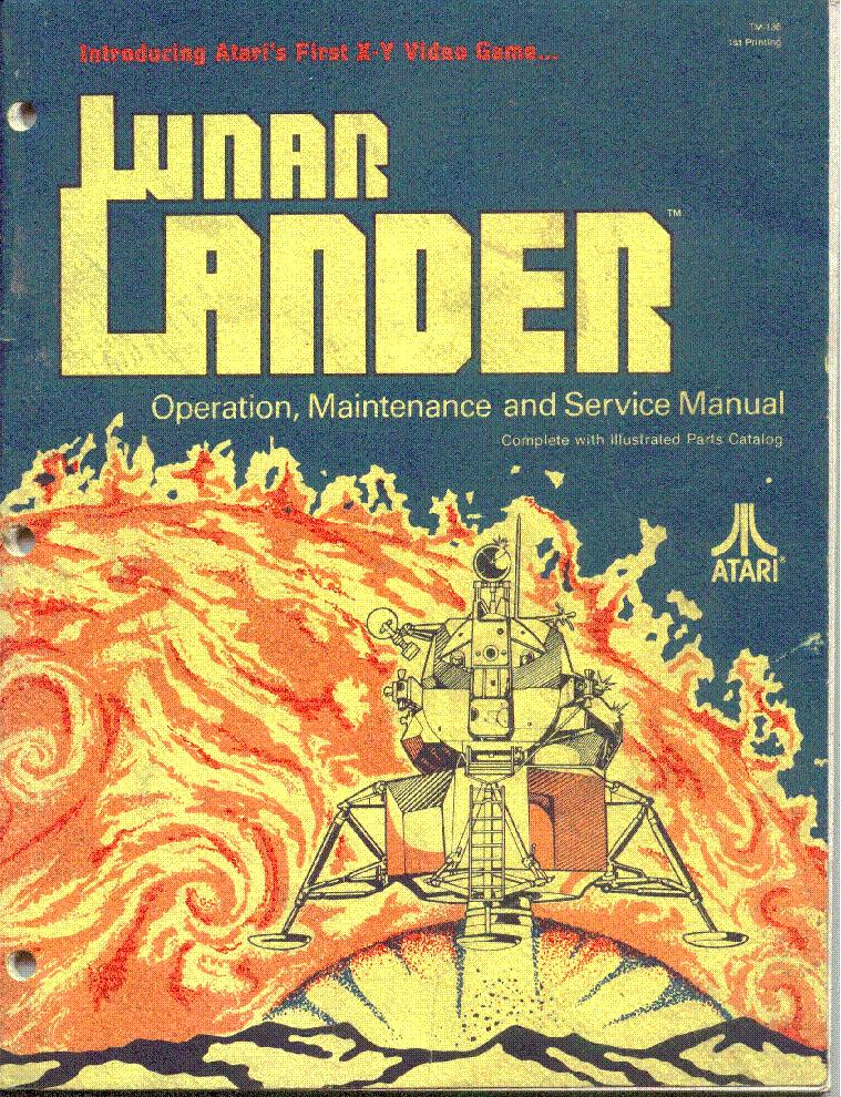 Lunar lander (pc) download.