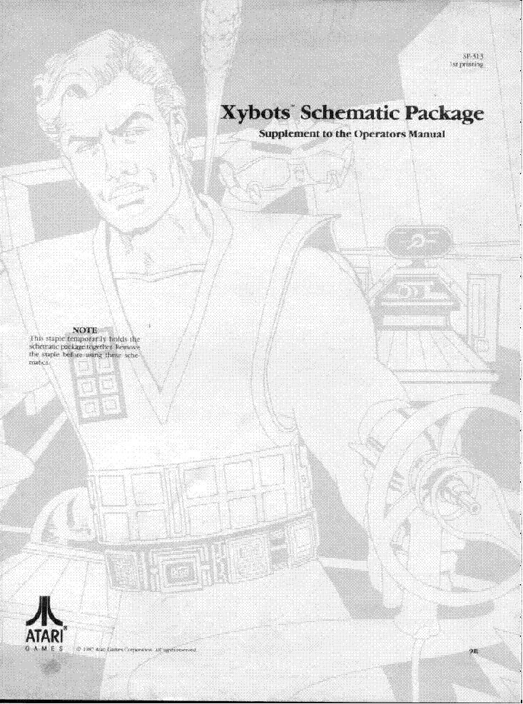 Atari Cloak And Dagger Service Manual Download Schematics Eeprom
