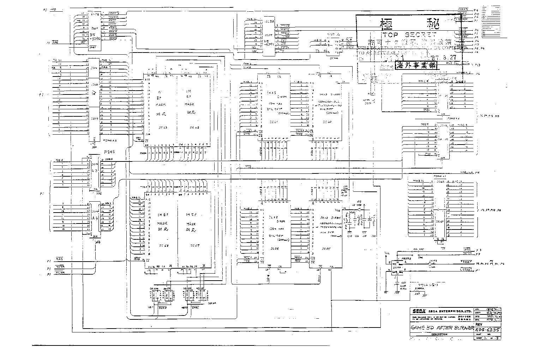 SEGA AFTER-BURNER Service Manual download, schematics ... on