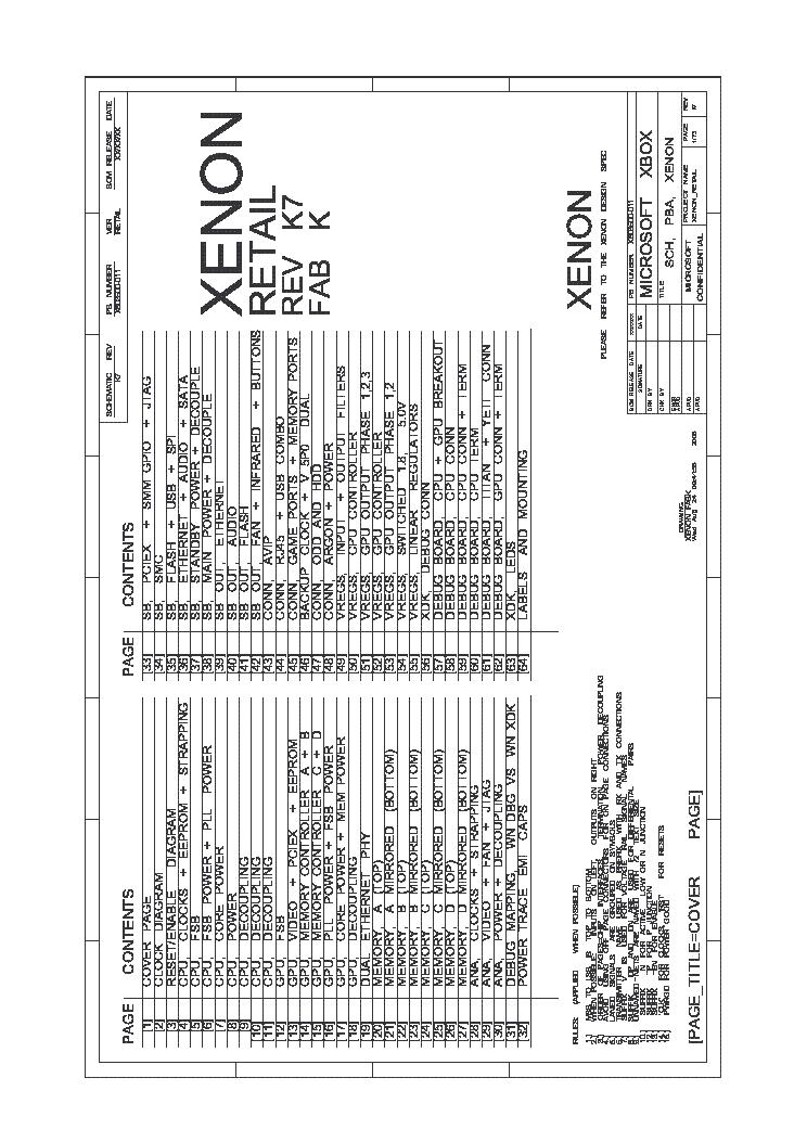 xbox 360 xenon microsoft 2005 sm pdf service manual download rh elektrotanya com Repair Xbox 360 Slim Case Xbox 360 Accessories