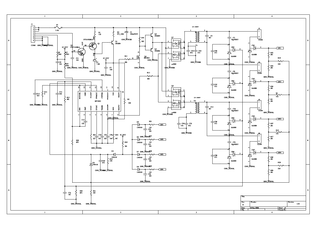 Bit3193 Protel Inverter Sch Ccfl Inverter Sch Service