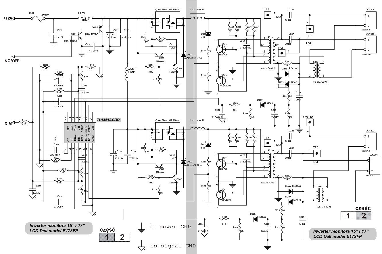 dell e173fp inverter sch service manual download schematics eeprom rh elektrotanya com dell e173fpf service manual dell e173fp service manual