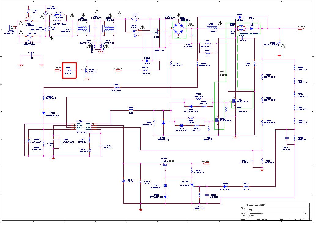 esquema da fonte SAMSUNG BN44-00167A Samsung_bn44-00167a.pdf_1