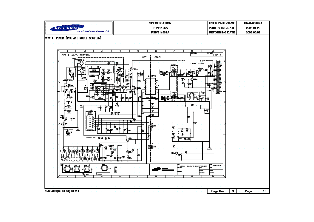 Samsung Bn44 00199a Service Manual Download Schematics