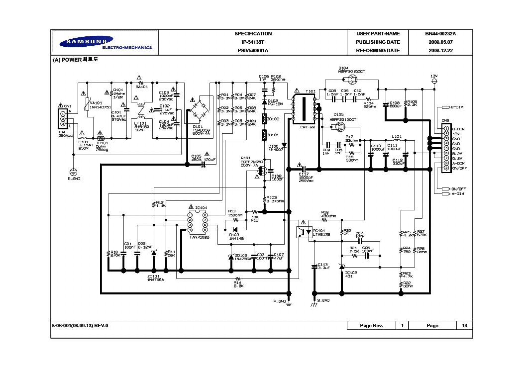 Samsung Bn44 00232a Inverter Sch Service Manual Download