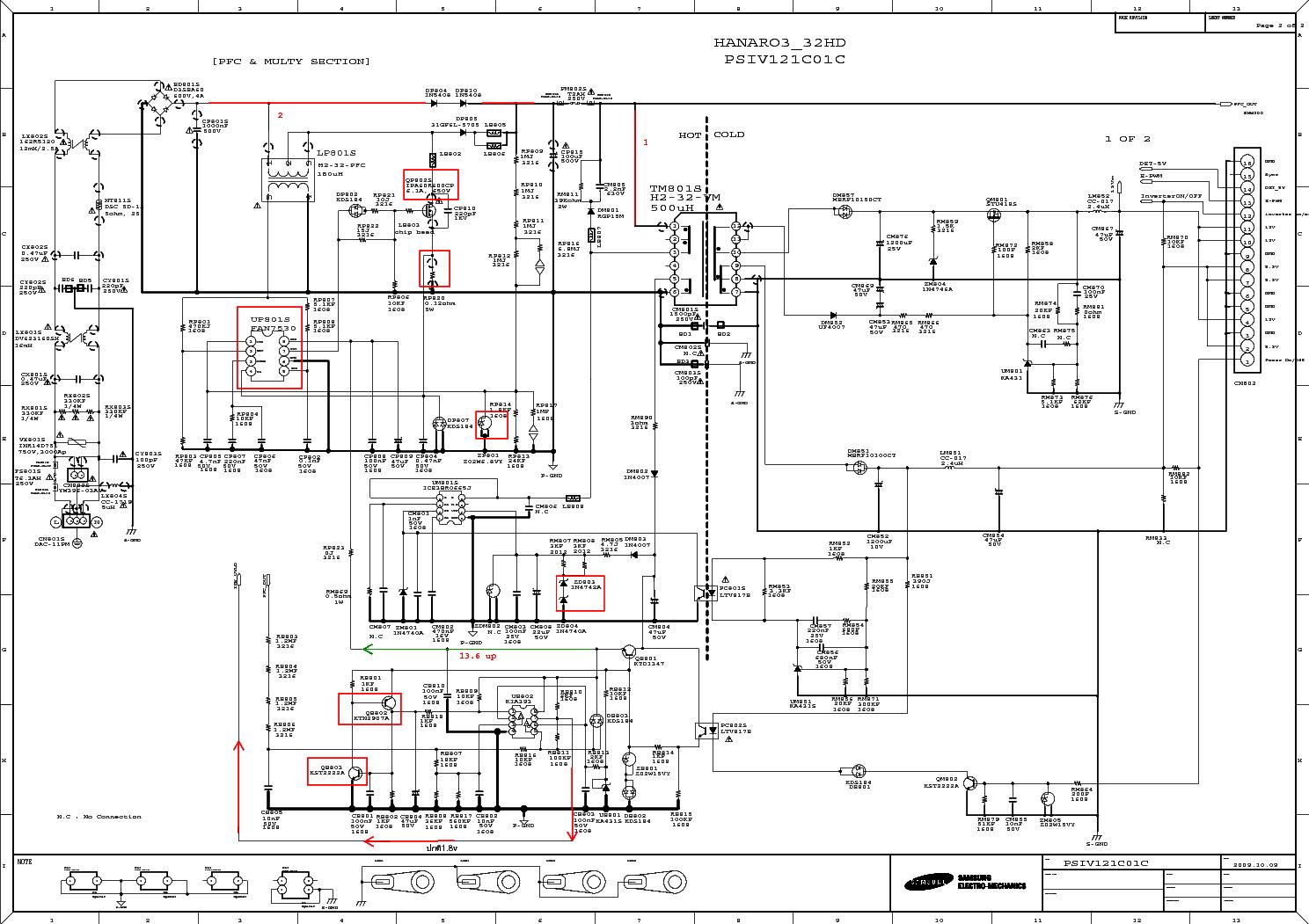 Схемы блоков питания самсунг bn44