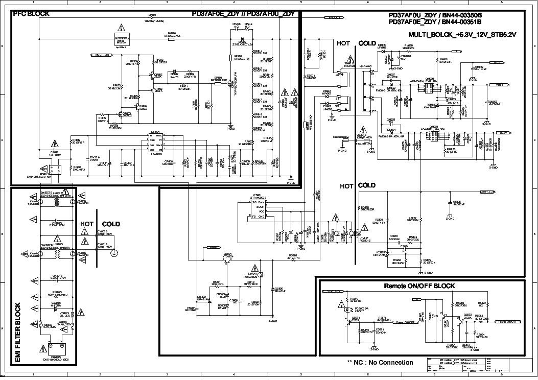 Samsung Bn44 00351b Service Manual Download Schematics