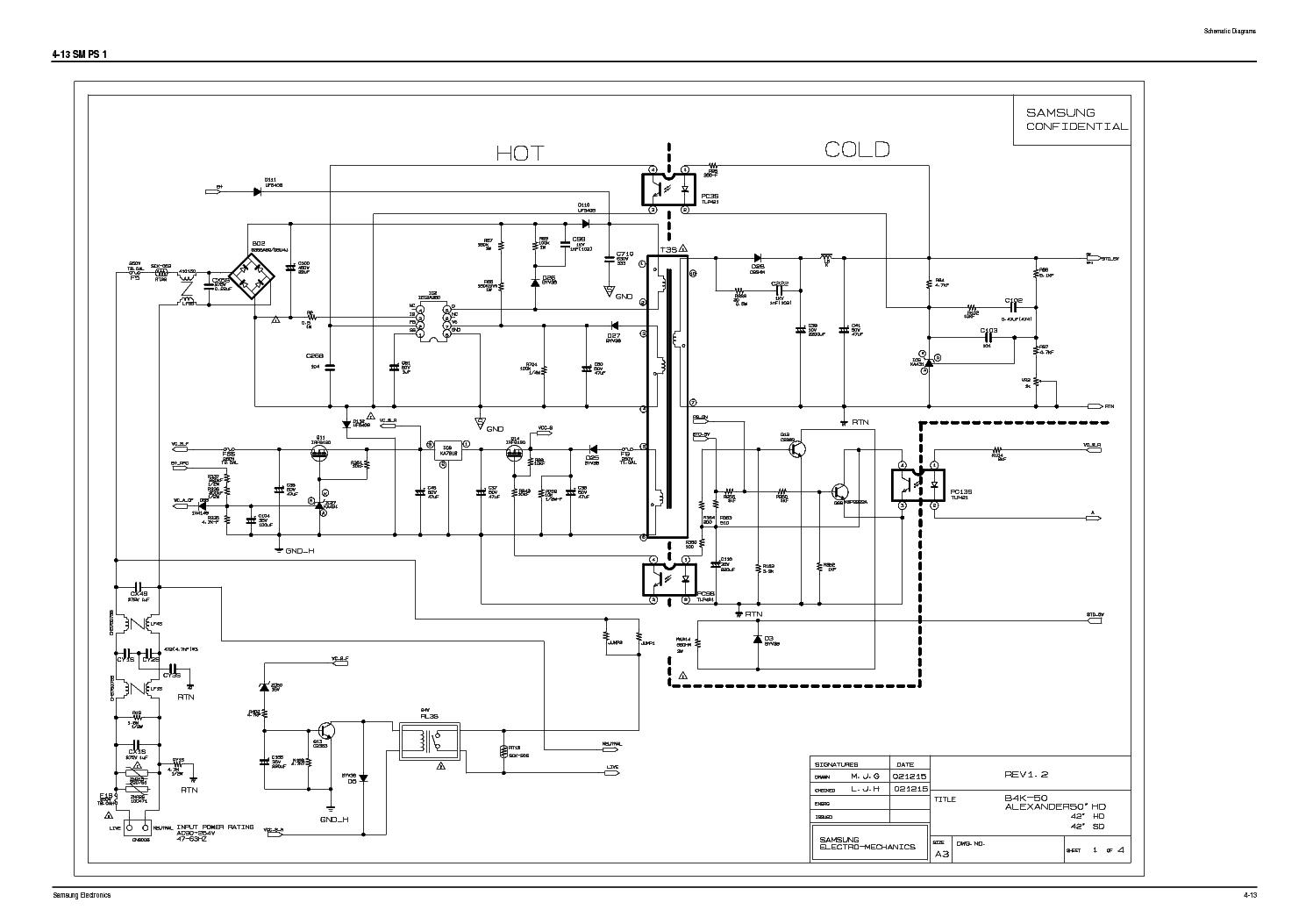 Samsung Bn96 01217a B4k 50 Alexander 42 50 Inverter Power