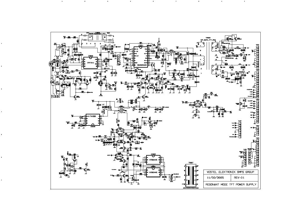 Vestel 17ips06 2 17ips02 1 Inverter Sch Service Manual