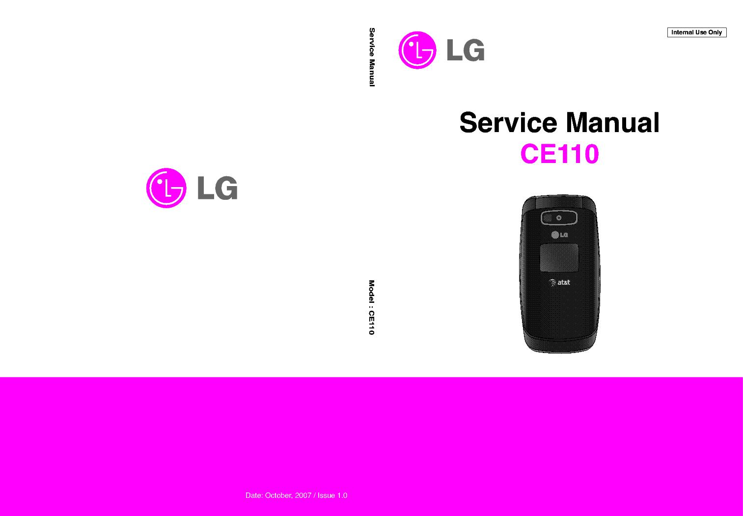 lg ce110 sm service manual download schematics eeprom repair info rh elektrotanya com Unlock LG CE110 AT&T LG Phones