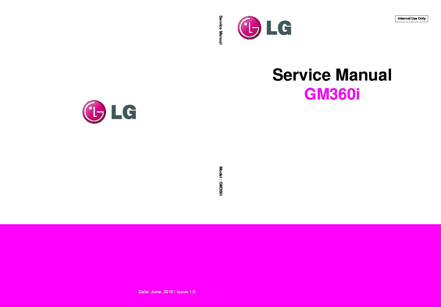 lg gm360i service manual download schematics eeprom repair info rh elektrotanya com LG Cell Phone Manuals LG GS170 Manual