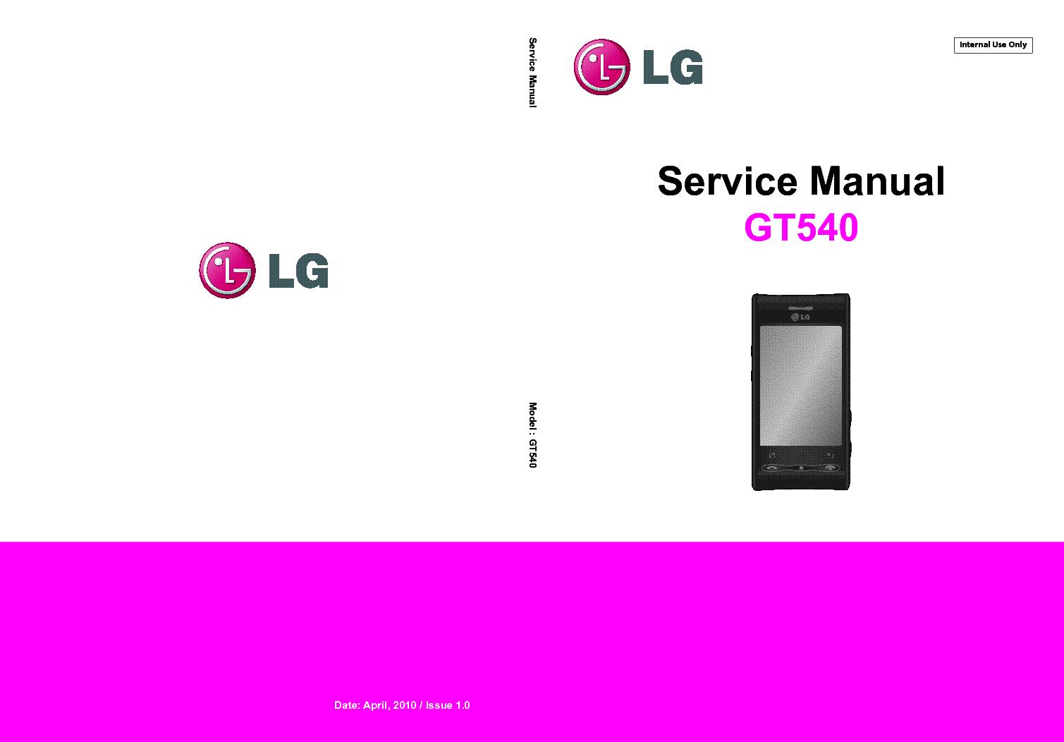 lg gt540 service manual download schematics eeprom repair info rh elektrotanya com LG Optimus Specification Full Sprint LG Optimus S