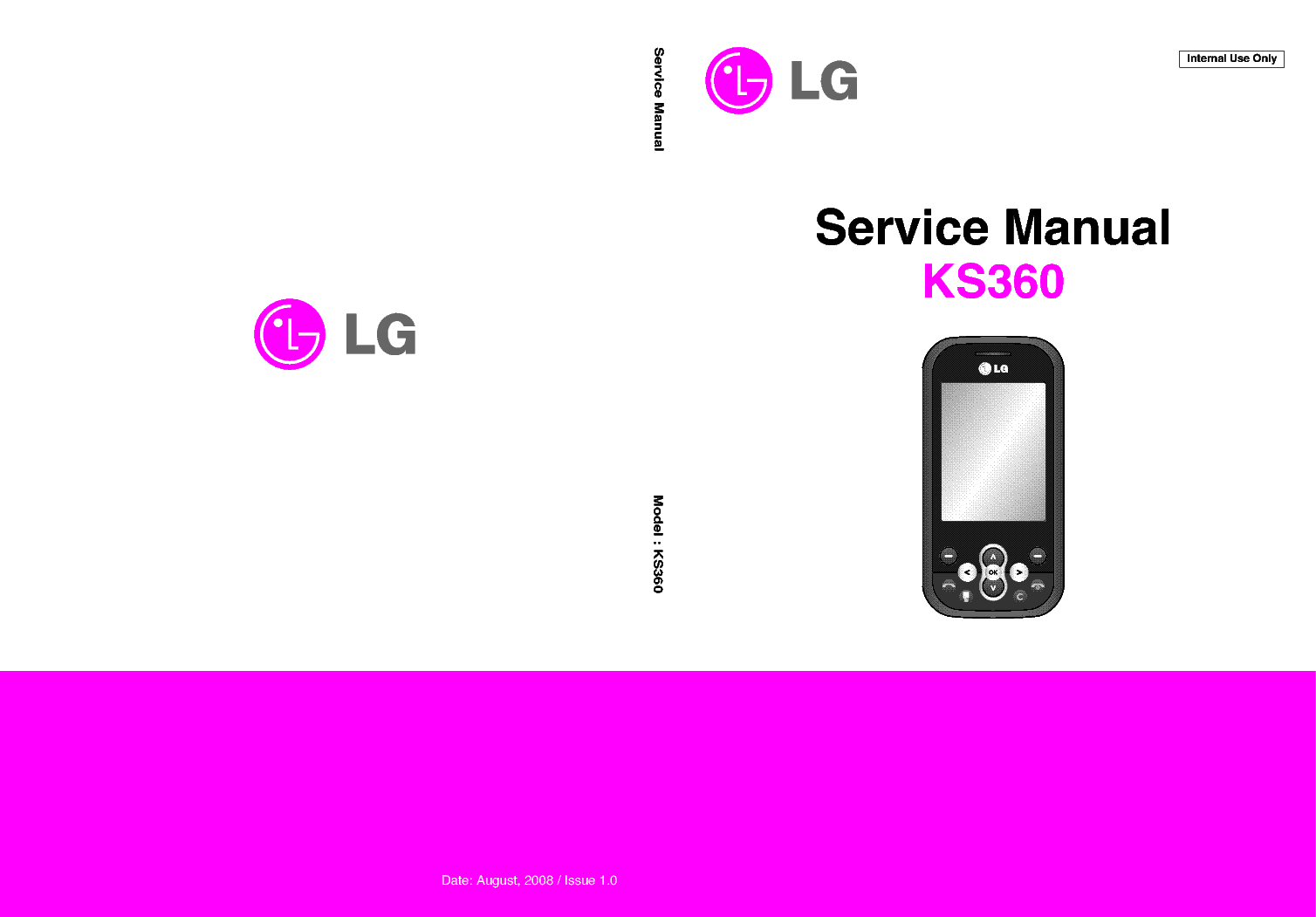 lg ks360 sm service manual download schematics eeprom. Black Bedroom Furniture Sets. Home Design Ideas