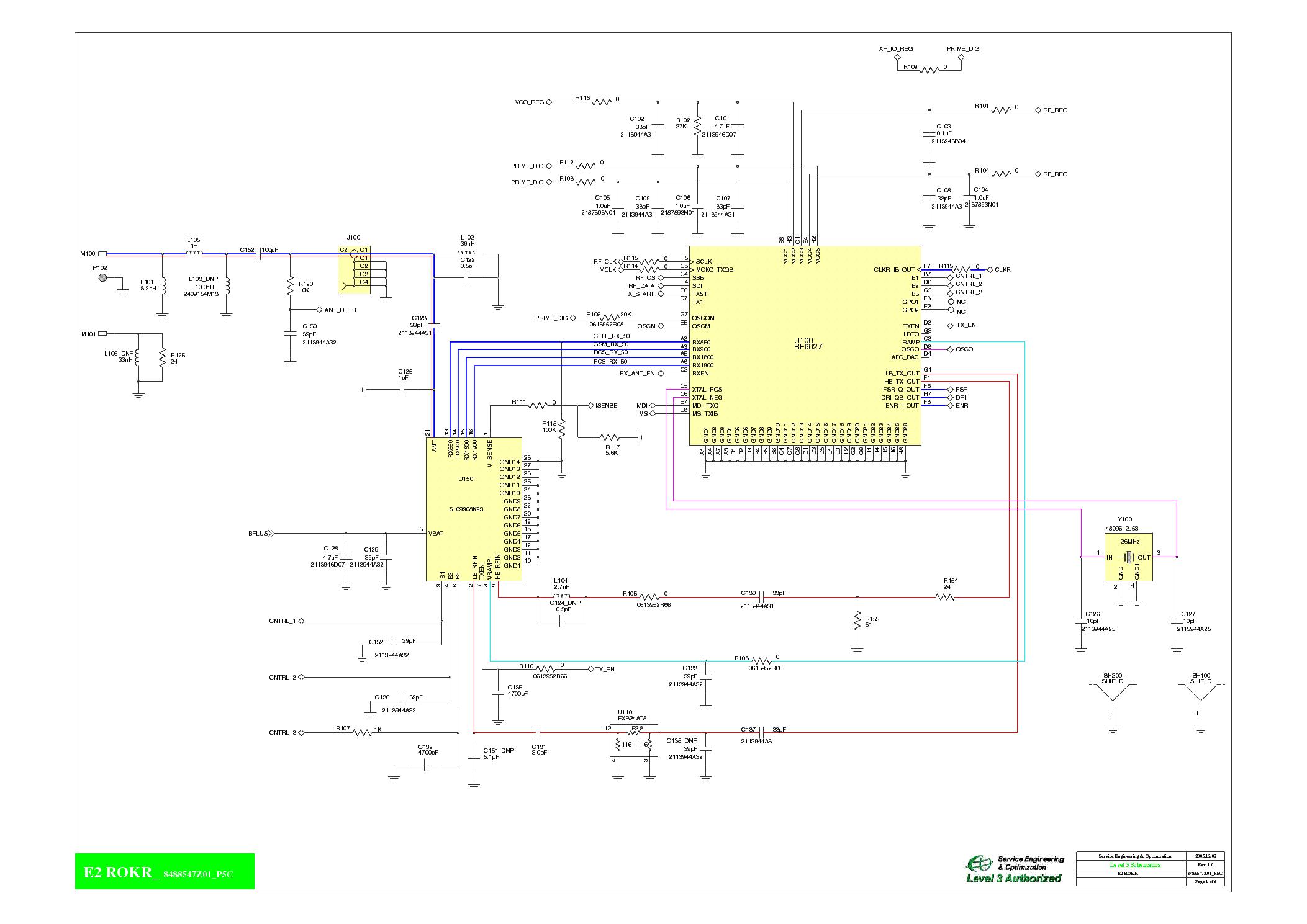 MOTOROLA E2 SCH service manual (1st page)