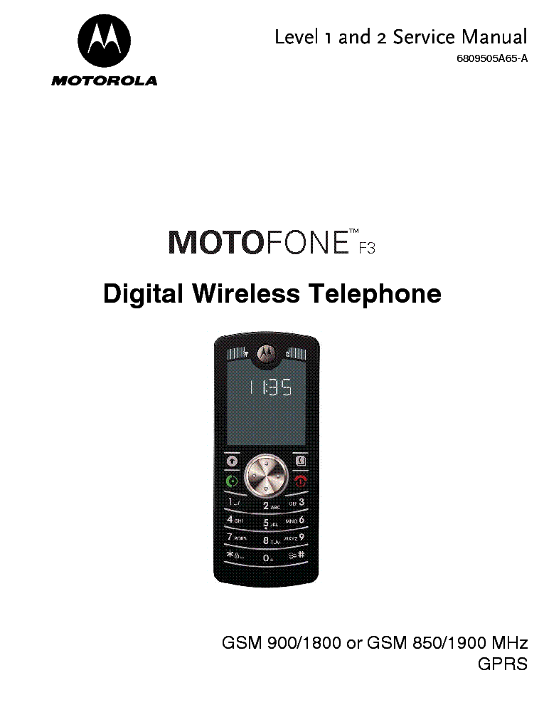 motorola r2670 service manual pdf