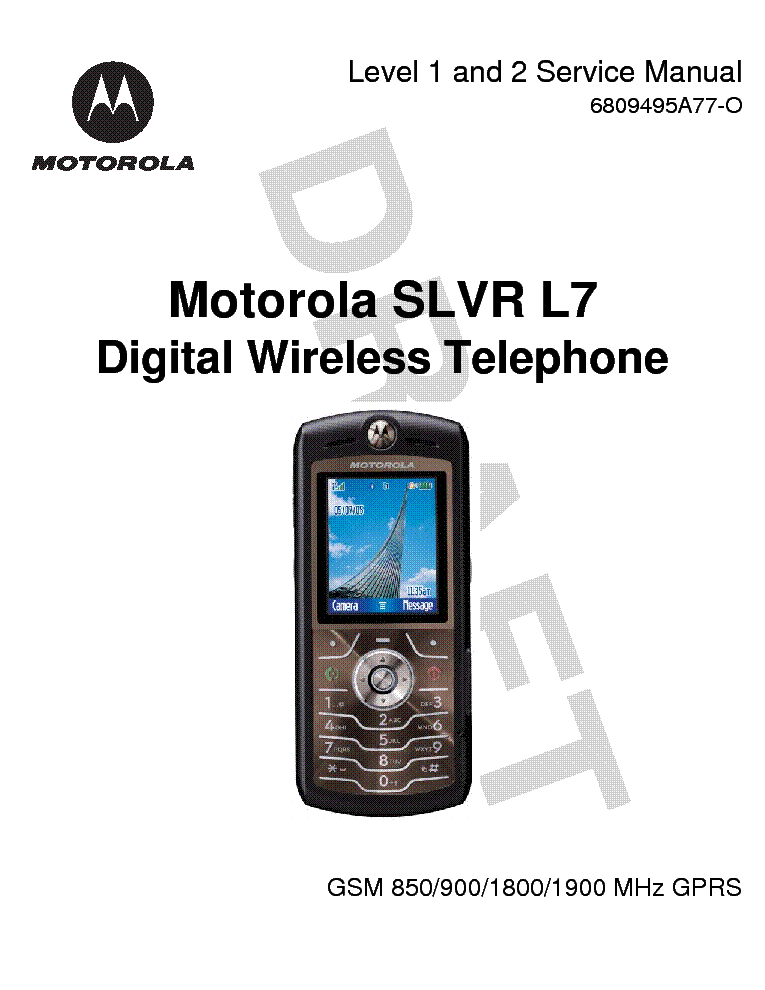 motorola slvr l7c service manual browse manual guides u2022 rh trufflefries co Motorola Z6 Motorola Z3