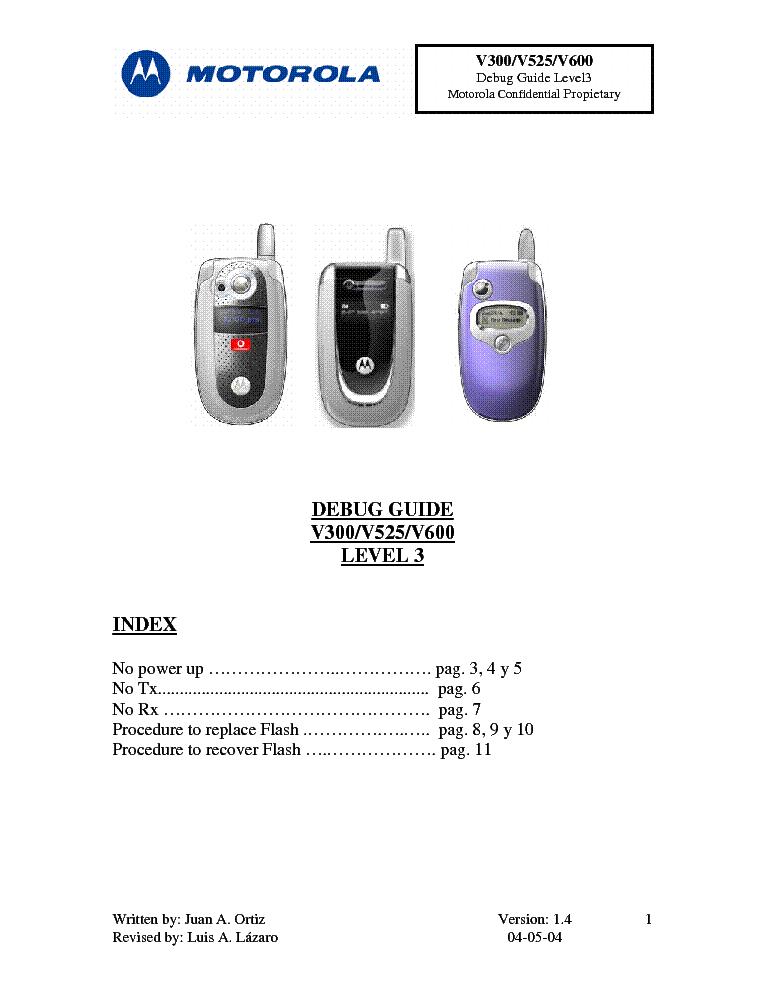 Инструкция на motorola v 300