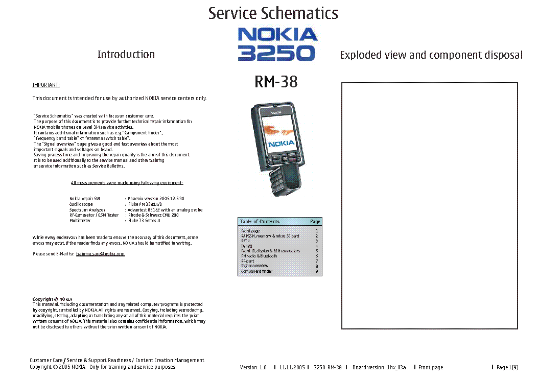 nokia 3250 rm 38 service manual download schematics eeprom repair rh elektrotanya com Nokia 5300 Nokia 8250