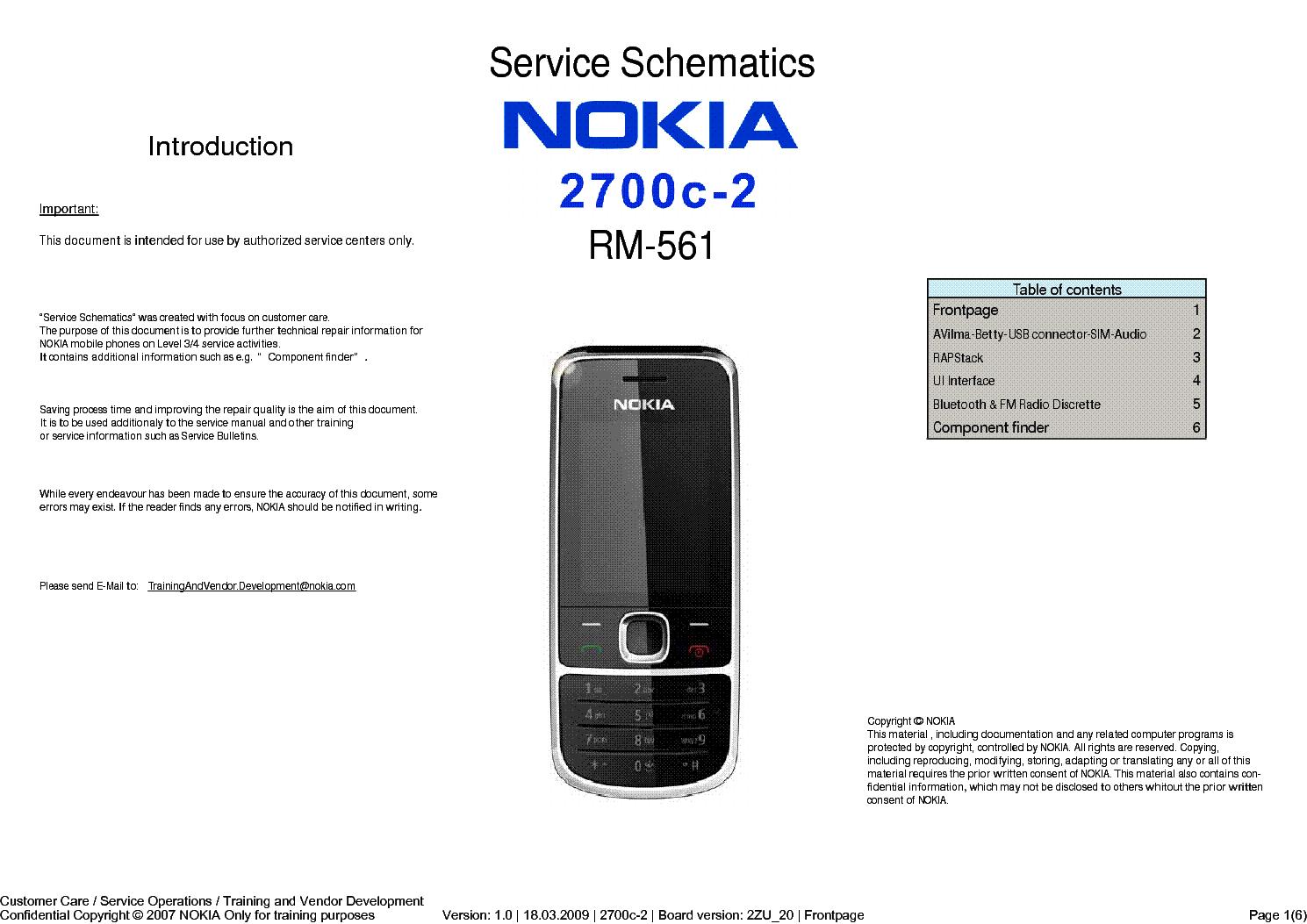 nokia 2700c 2 rm561 sch service manual download schematics eeprom rh elektrotanya com Nokia 1100 Nokia 3310