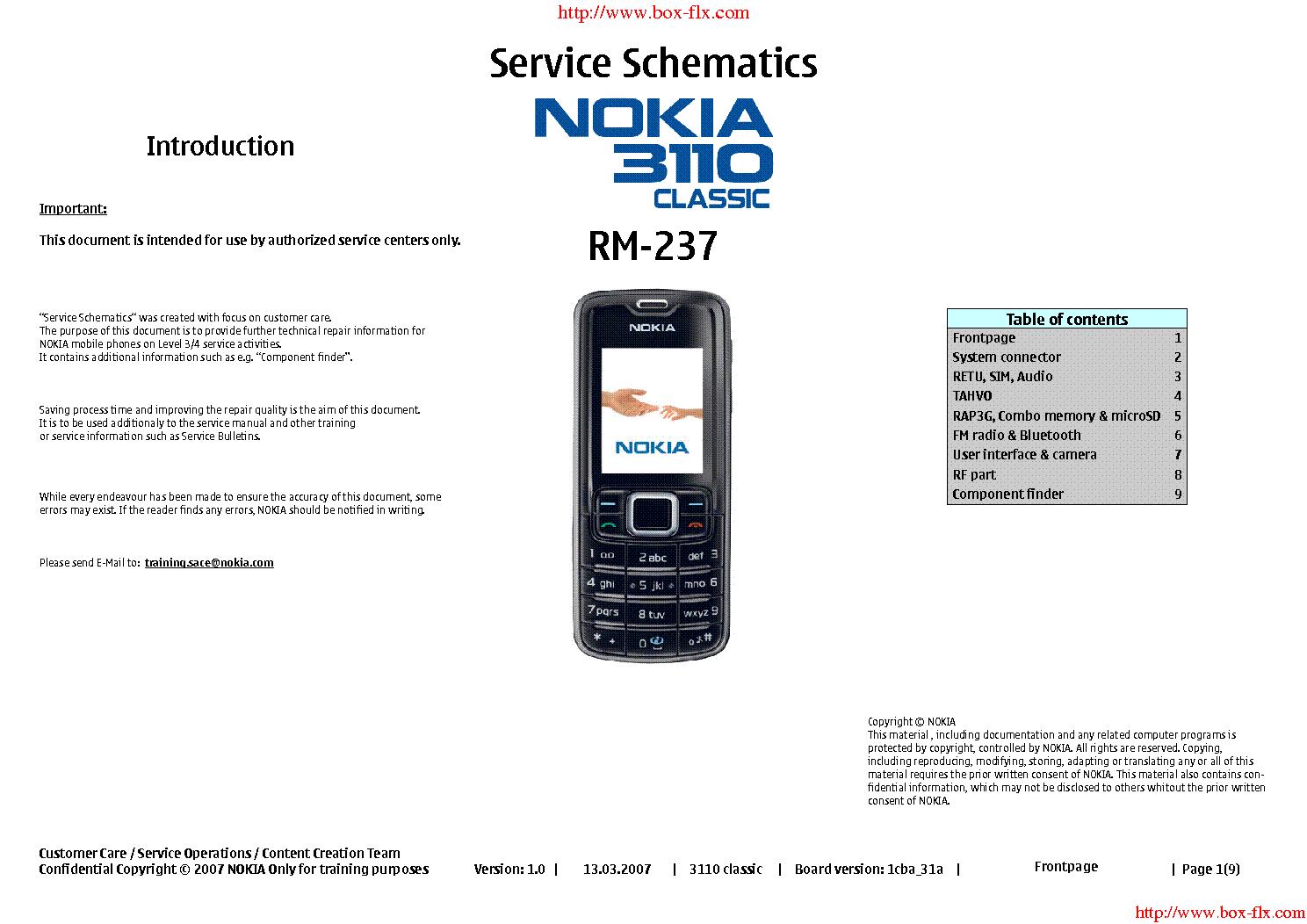 nokia 3110c rm 237 service manual download schematics eeprom rh elektrotanya com iPod Manual Nokia Lumia 521 Manual