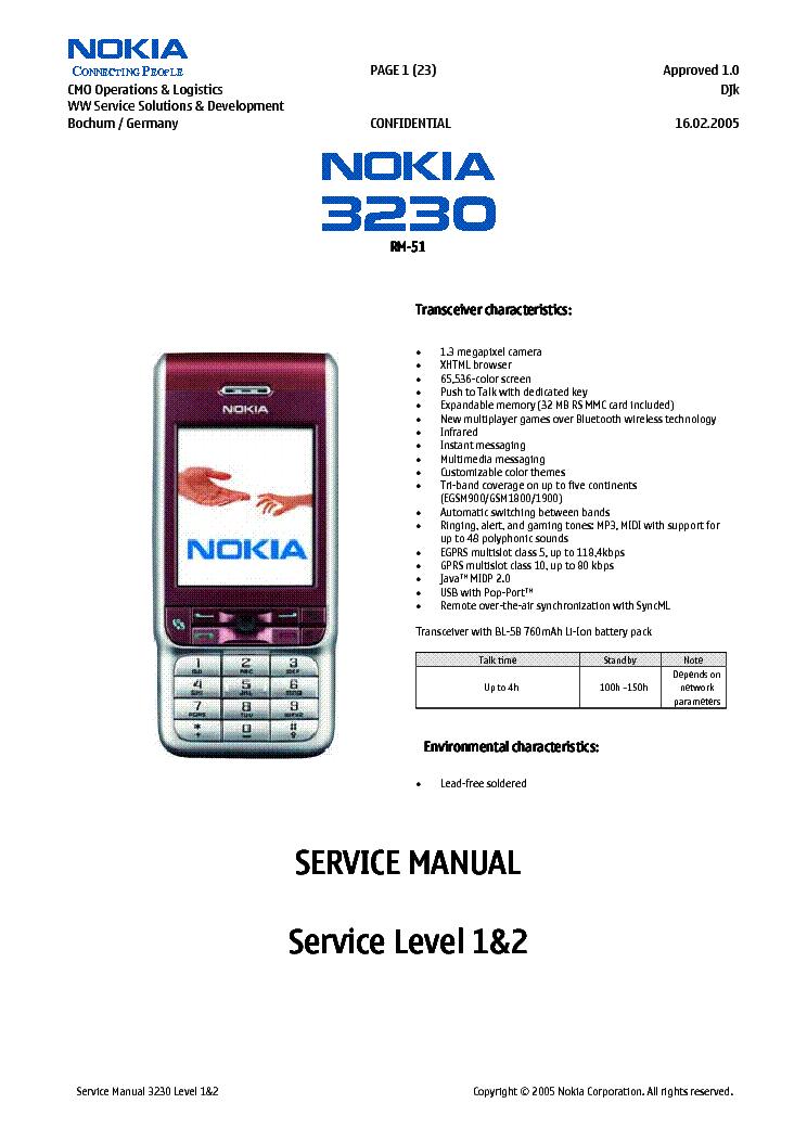 nokia 3230 rm51 1 2 service manual download schematics eeprom rh elektrotanya com nokia rm-513 manual Nokia E 66
