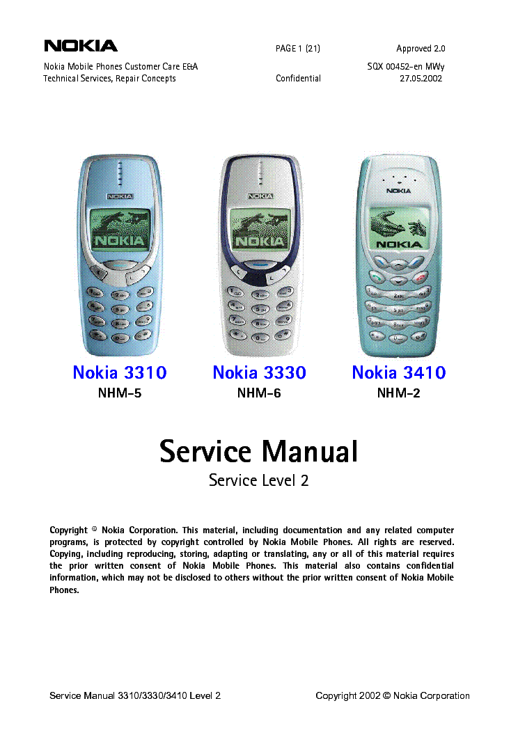nokia 105 service manual