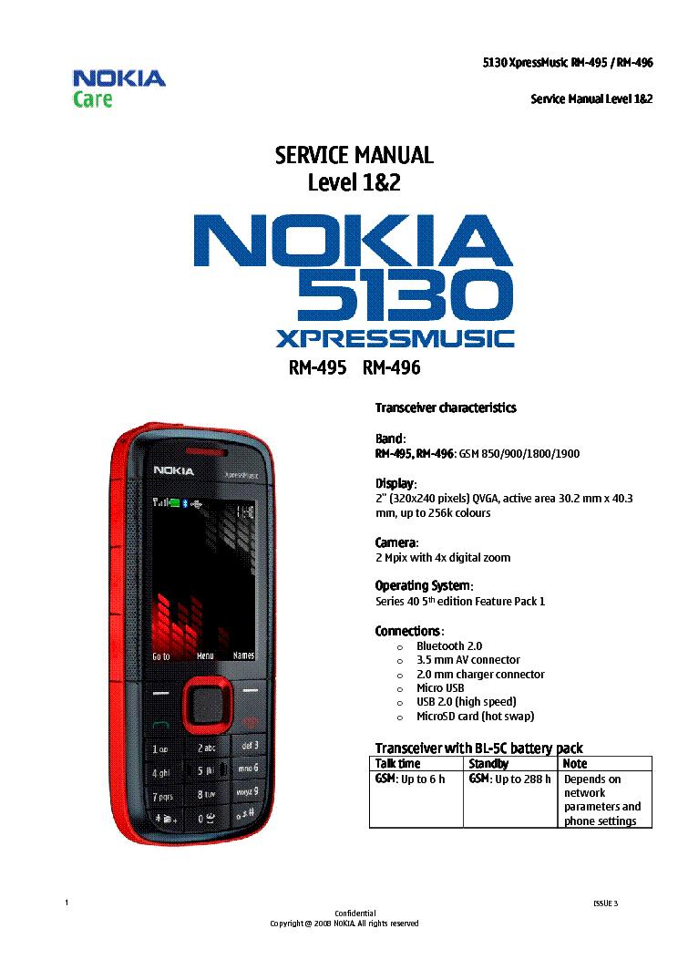 Pdf For Nokia 5130