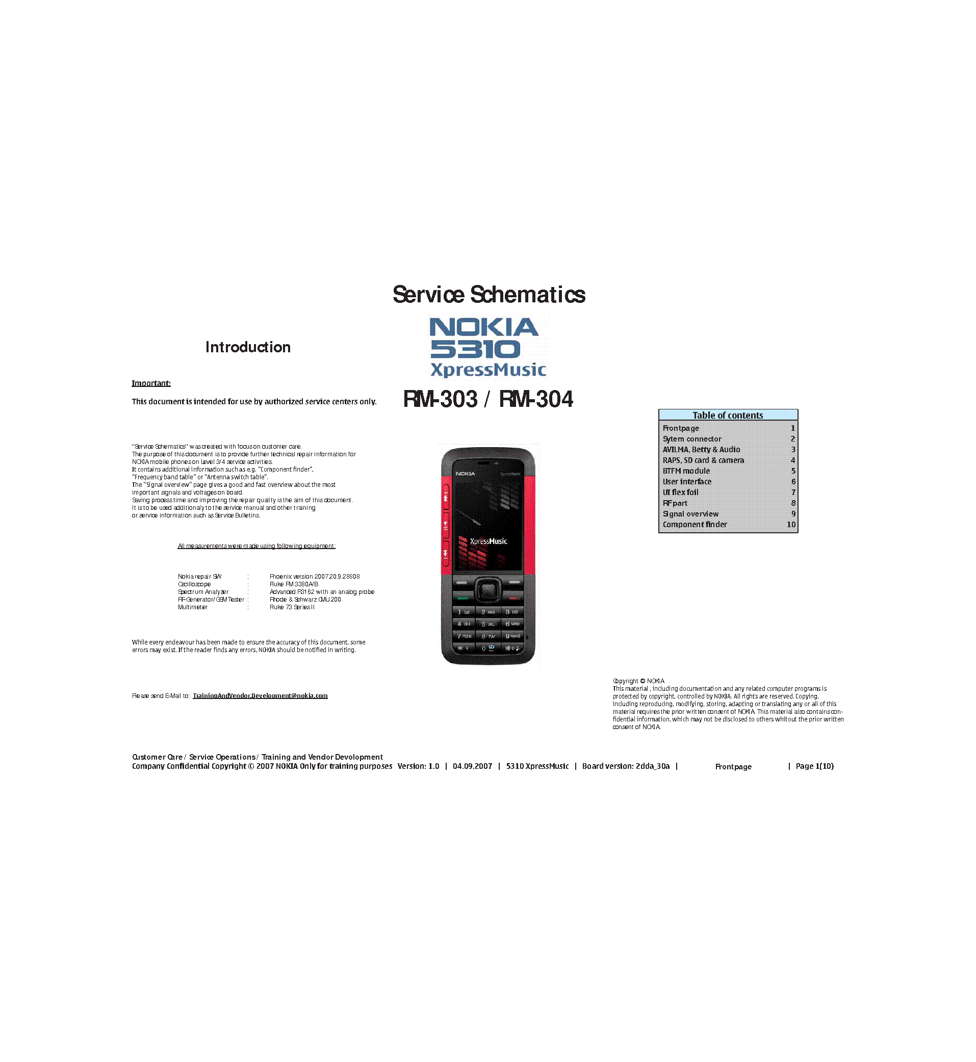 nokia 5310 xpressmusic rm 303 rm 304 schematics v1 0 zmod service rh elektrotanya com nokia 5310 service manual pdf Nokia 5330