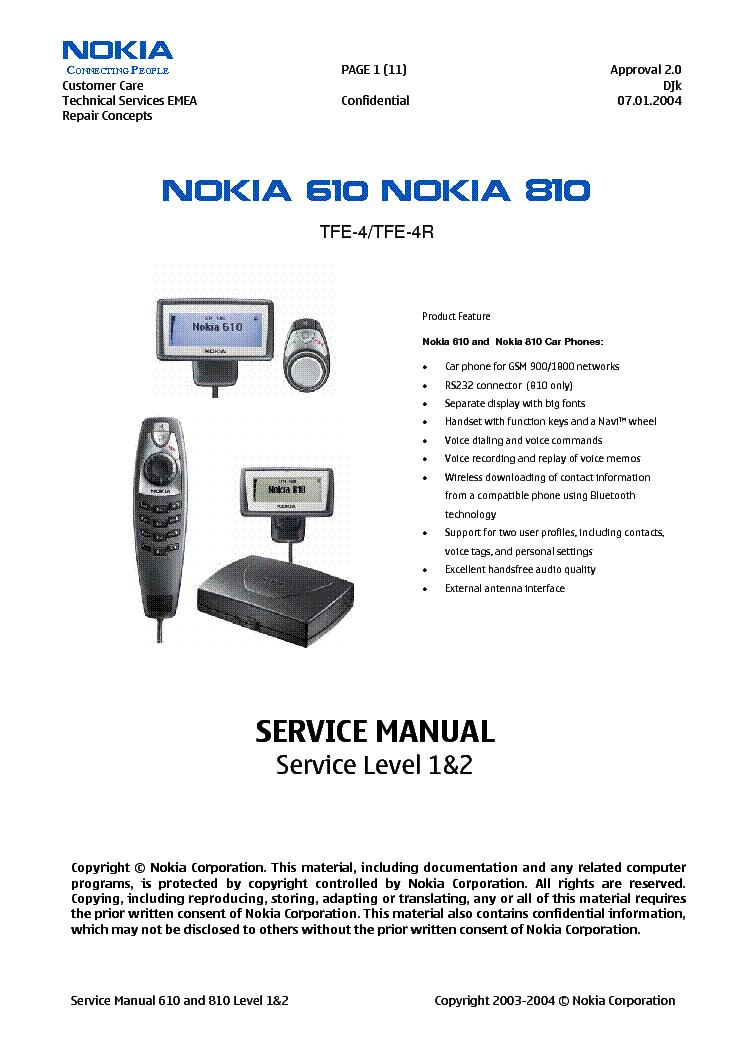 nokia 610 810 carphone sm service manual download Nokia E71 Nokia E73