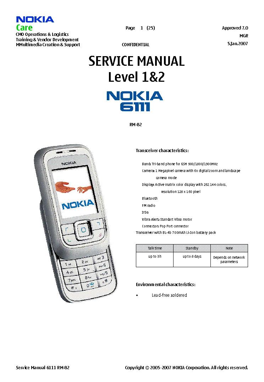 nokia 6111 rm