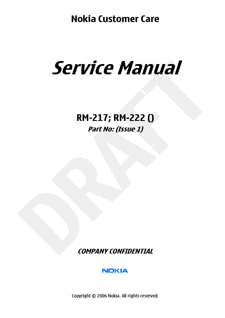 nokia 2700c 2700c2 rm561 1 2 service manual free download