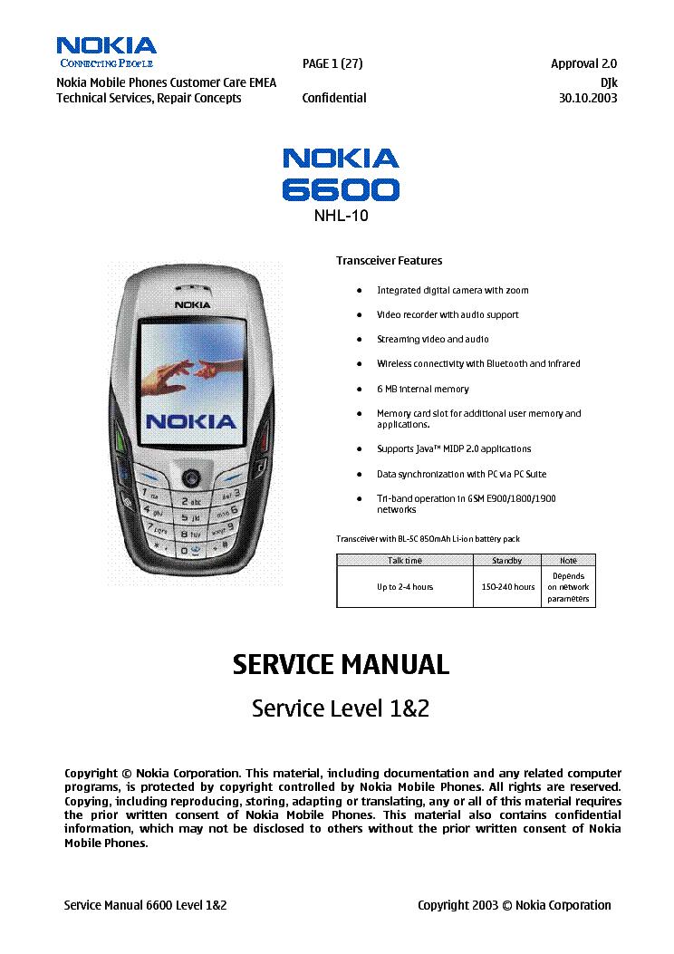 Нокиа 6600 слайдер инструкция