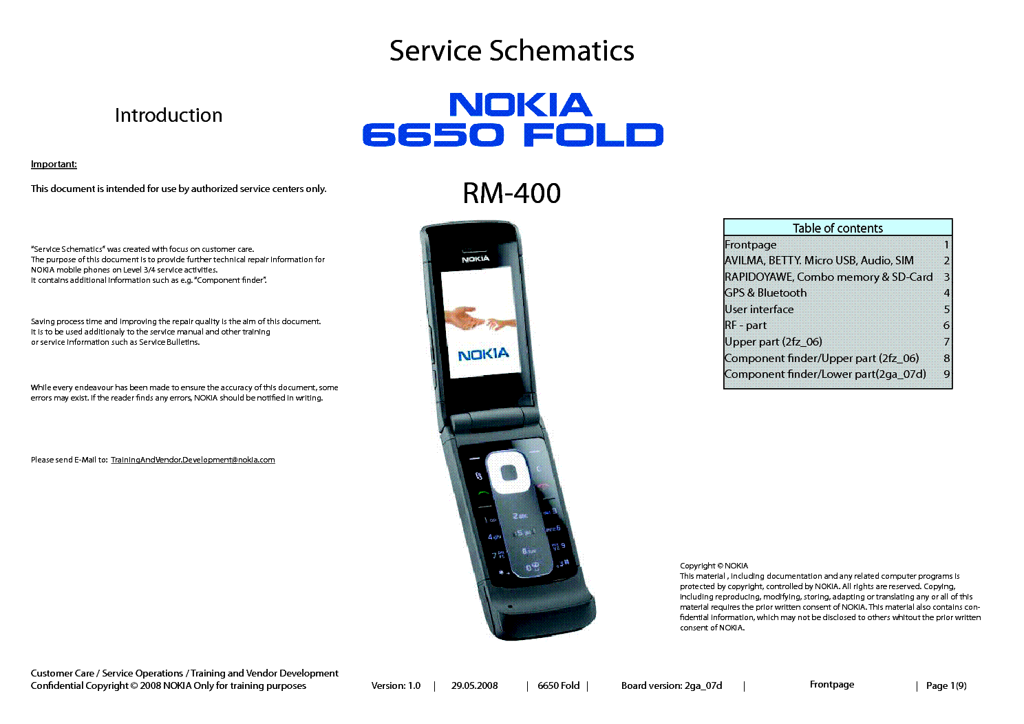 nokia 6650 fold rm 400 service schematics v1 0 sch service manual rh elektrotanya com Nokia Lumia 520 Manual iPod Manual