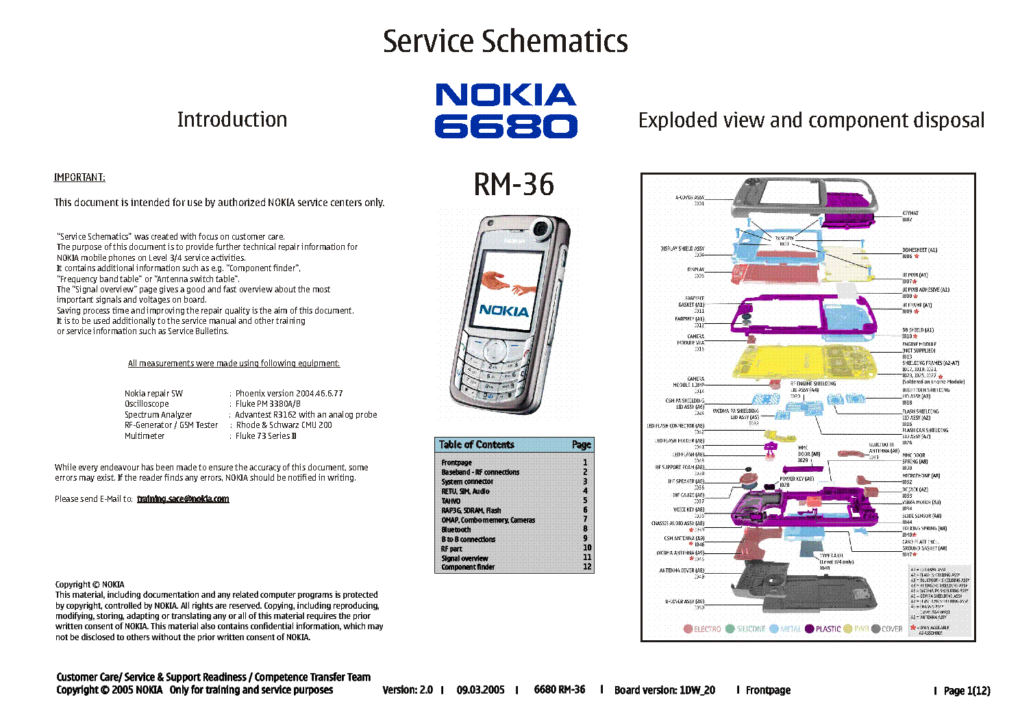 nokia 6680 rm 36 service schematics service manual download rh elektrotanya com nokia 6680 service manual nokia 6680 user manual.pdf