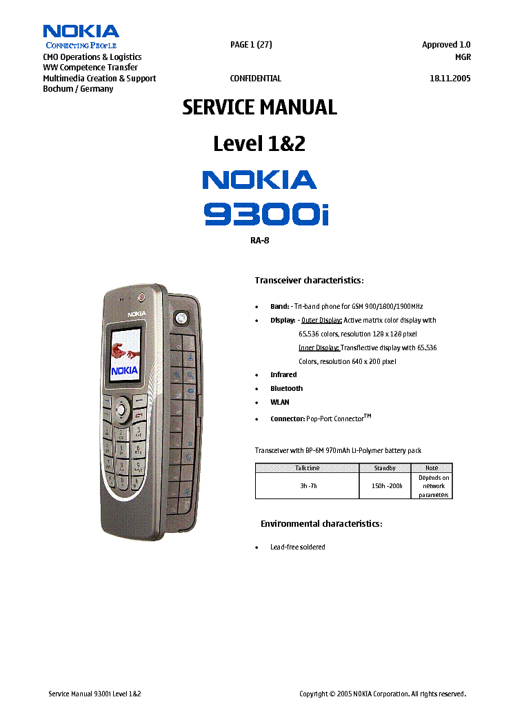 nokia 9300i ra8 1 2 service manual download schematics eeprom rh elektrotanya com Nokia 3250 Nokia Lumia 930