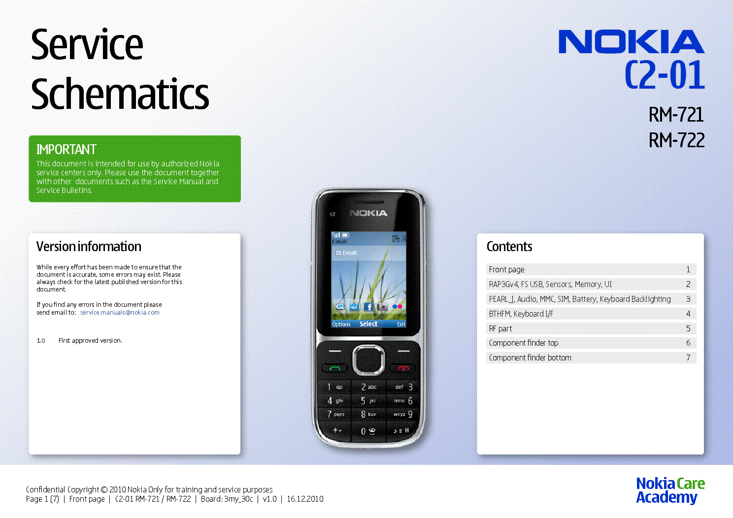nokia c2 01 rm 721 rm 722 sch service manual download schematics rh elektrotanya com nokia c2-01 manual de usuario nokia c2 01 manual pdf