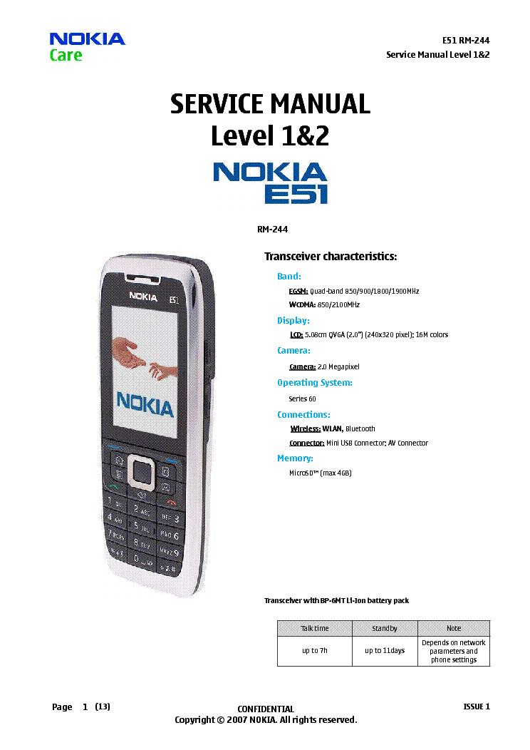 nokia e51 rm 244 l12 service manual download schematics eeprom rh elektrotanya com