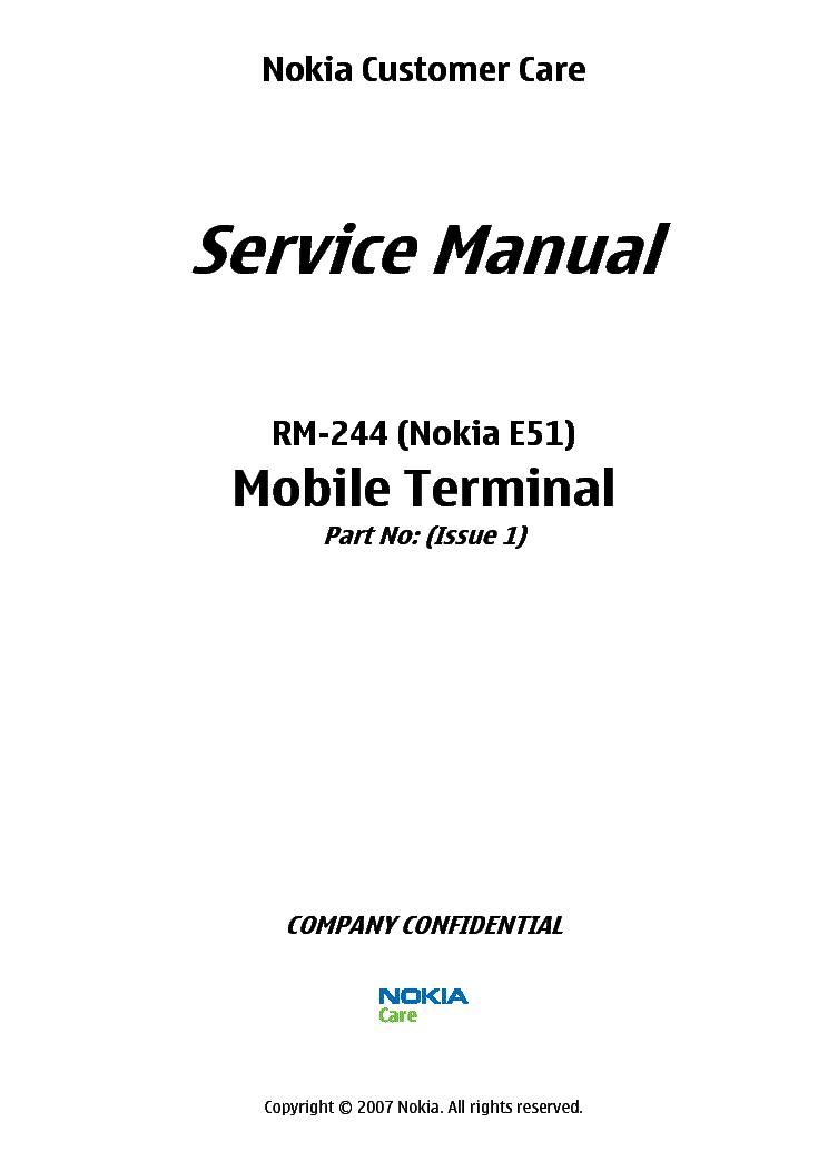nokia e51 rm 244 l34 service manual download schematics eeprom rh elektrotanya com