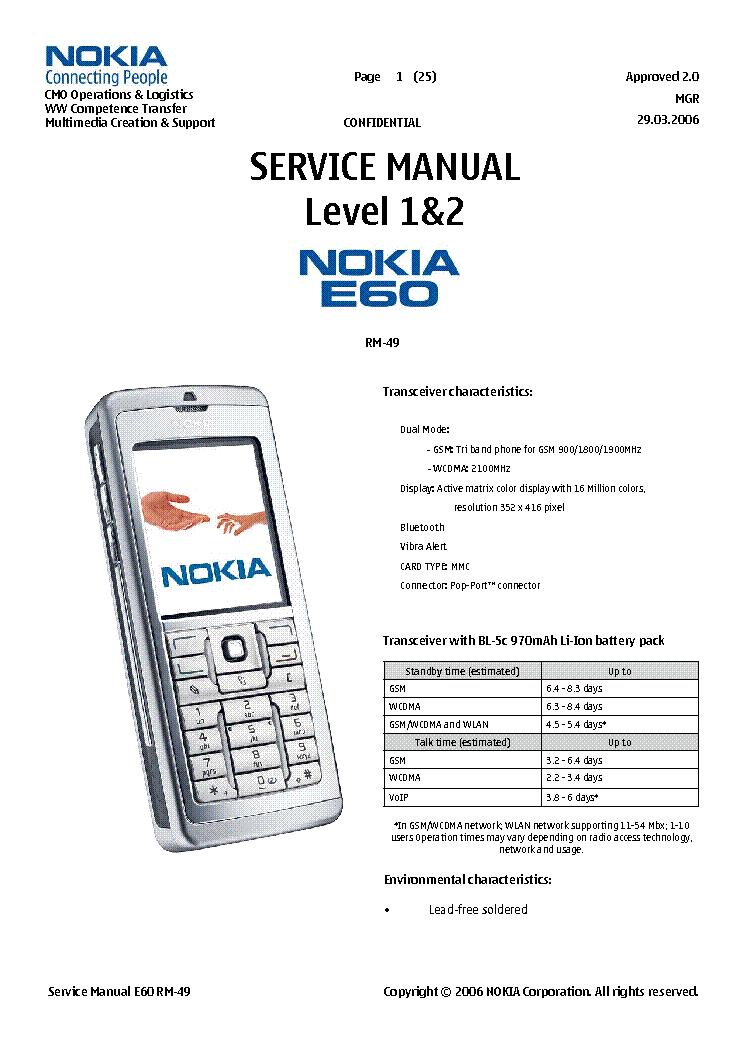 nokia e60 rm49 1 2 service manual download schematics eeprom rh elektrotanya com