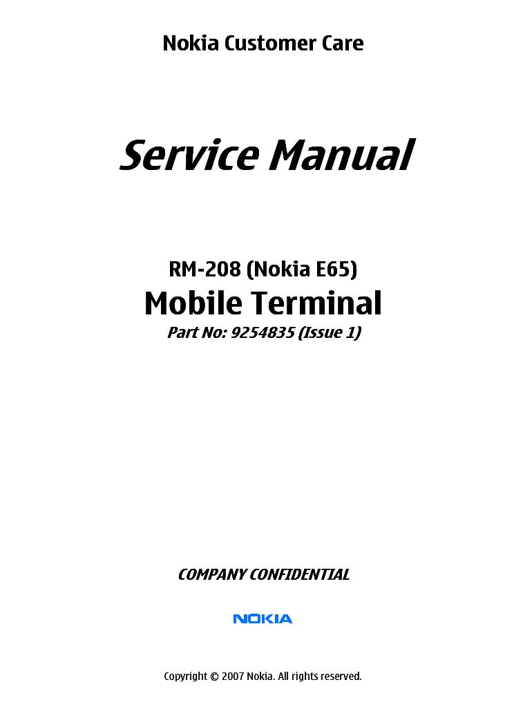 Nokia e65 1 manual.