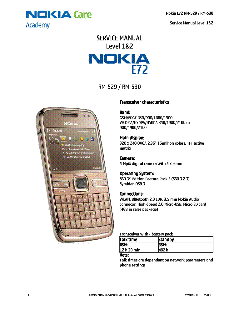 nokia e72 manuale how to and user guide instructions u2022 rh lakopacific com Apple iPhone Manual Nokia E72 Specs